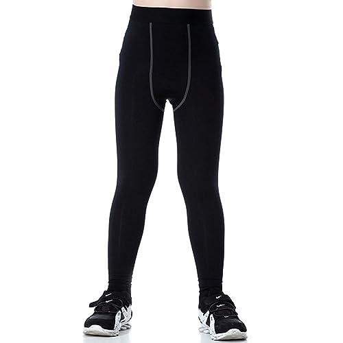 465ccbb150 Buy Boy's Sports Running Stretch Pants Compression Football Legging ...
