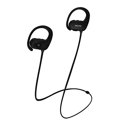 322e7ed9e ralyin mp3 musikkspiller sport trådløse hodetelefoner Bluetooth ørepropper  innebygd 8 GB minnehodesett vanntette hodetelefoner for å kjøre ...