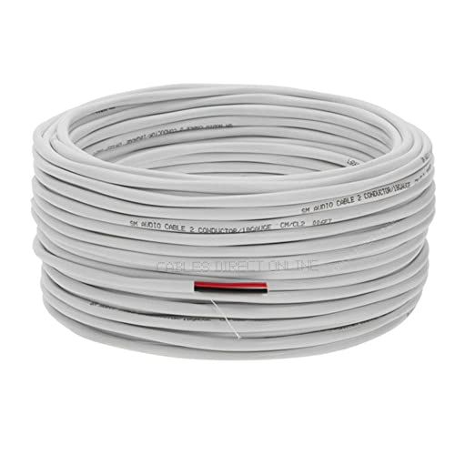 Fire Security Burglar Station Alarm Wire 22//2 500ft Solid Security Cable