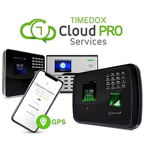 Buy Timedox Tandem Pro WiFi/LAN Biometric Time Clock | $25