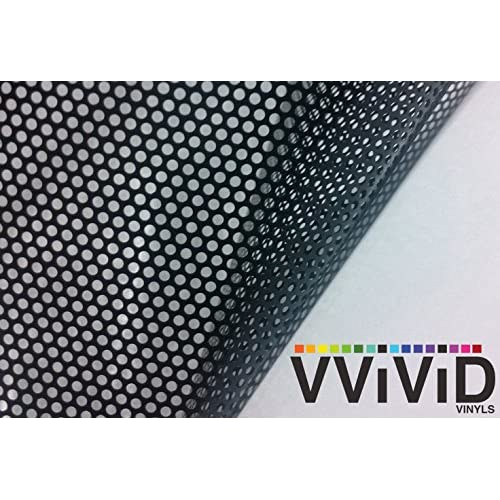 1.5ft x 5ft VViViD Gloss Black Vinyl Wrap Adhesive Film Air Release Decal Sheet