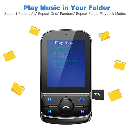 AUX TF Card EQ Mode Support USB Drive Handsfree Calling