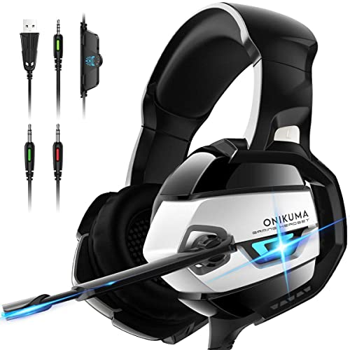 Updated Noise Xbox One Gaming Headset PS4 PC Enhanced 7.1 Surround Sound