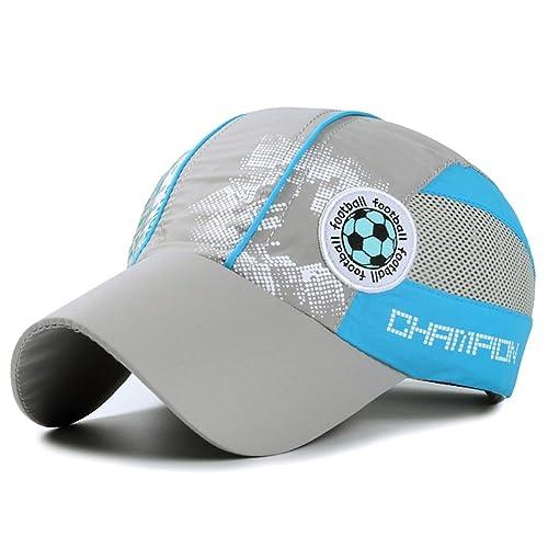 5f4a5616f248b Home Prefer Kids Toddlers Lightweight Quick Dry Sun Hat UPF50+ Mesh  Baseball Hat