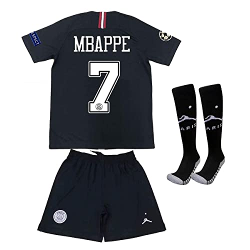 46b6e067 Buy Saint George ii PSG X #7 Mbappe 2018/2019 New Away Youths/Kids ...