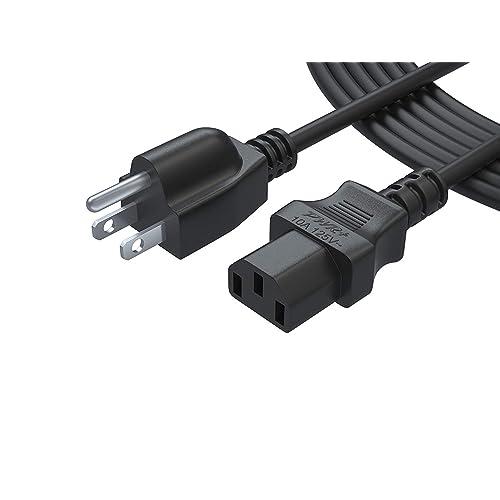 Buy 12 Ft 3 Prong Ac Power Cord for LCD Tv Plasma DLP LED Monitor 4K
