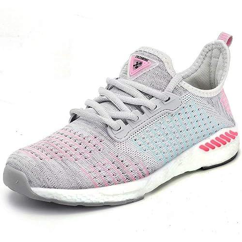 2b0b6be1183a Buy visionreast Women Mens Knit Running Shoes Mesh Breathable ...