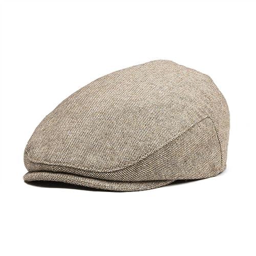 d25995362 Buy JANGOUL Kids Wool Tweed Flat Cap Herringbone Boy Girl Newsboy ...
