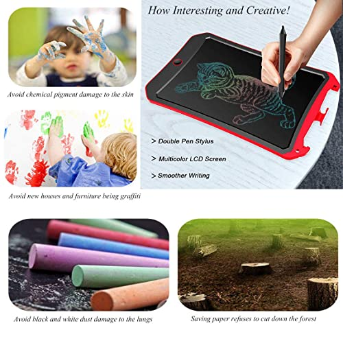 mom/&myaboys Upgraded Colorful Screen 9 Inch Electronic Writing Board Doodle Board-Best Gifts for Kids