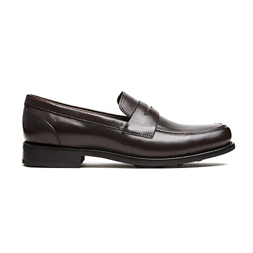 9c325634840b Buy Timberlux New York Mens Dress Shoes, Black Penny Loafers for Men ...