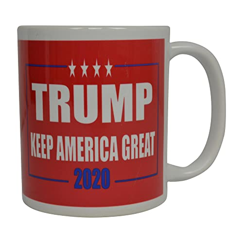 Make America Great Again Ceramic Coffee Mugs 11 oz, Red//Maga P/&B Donald Trump