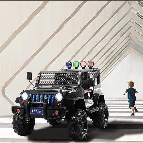 Buy Uenjoy Ride on Car with Remote Control 12V Electric Car