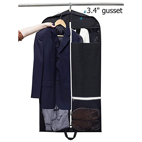 b168d12ef71a Buy SLEEPING LAMB 43 Gusseted Travel Garment Bag Breathable Suit ...