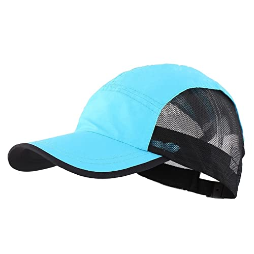 278ee268 LLmoway Breathable Kids Sun Protection Ball Cap Quick Dry Mesh Sports Hats