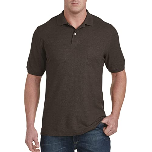 14d73ea5 Buy Harbor Bay by DXL Big and Tall Pocket Piqué Polo Shirt with Ubuy ...