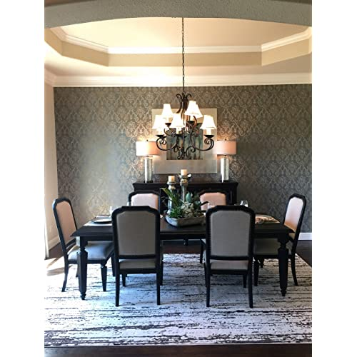 672 Rated Lumens Maxim Lighting Glass Shade Material Wet Safety Rating Maxim 12216OI Manor 9-Light Chandelier Oil Rubbed Bronze Finish 60W Max. Glass Standard Dimmable CA Incandescent Incandescent Bulb